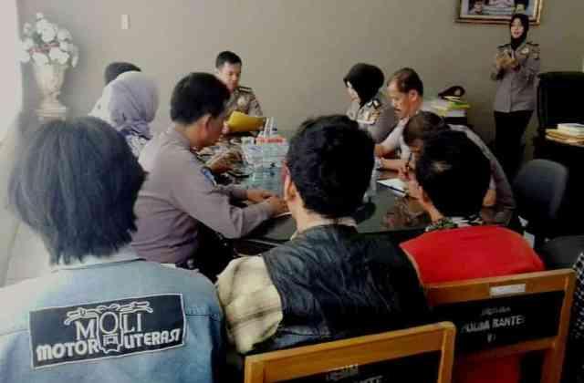 Polda Banten Dukung Gerakan Literasi