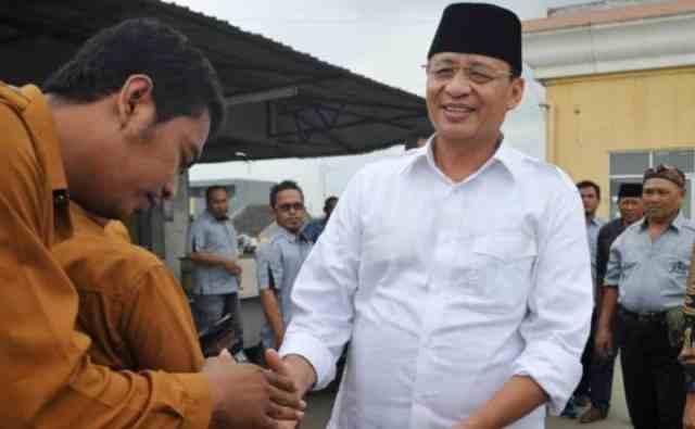 Wahidin Halim Minta Petugas Inspektorat Perkuat Cegah Korupsi di Provinsi Banten