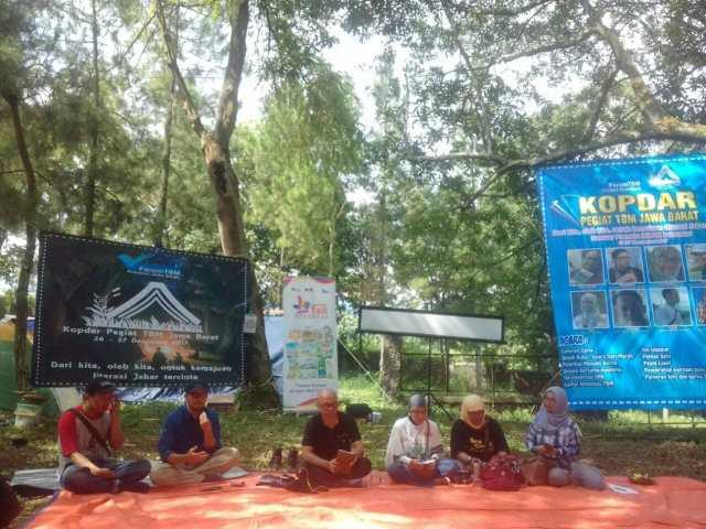 Pegiat Literasi Nasional Berkumpul di Acara Kopdar Pegiat TBM Jawa Barat