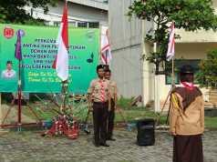 SMK Yapintek Gelar Pelantikan Dewan Ambalan Pramuka