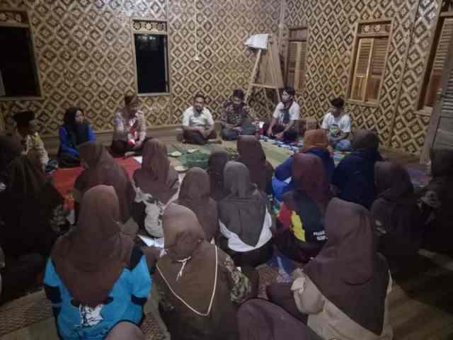 Pengurus Baru Saka Taruna Bumi Kwarran Cibeber, Lebak-Banten Belajar Pertanian Alami