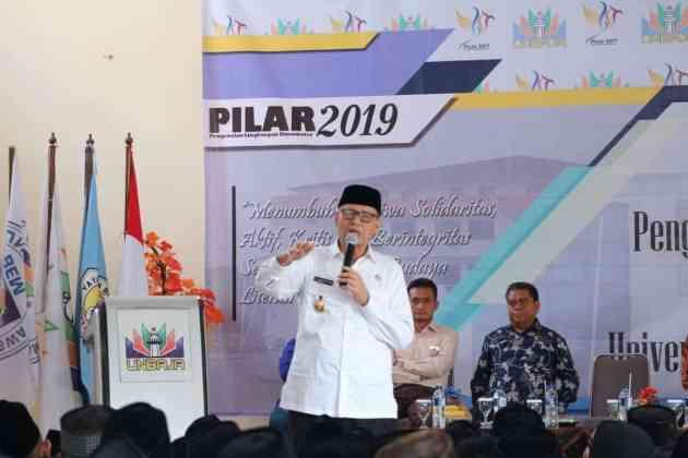 Beri Kuliah Umum Mahasiswa Unbaja, Gubernur Ungkap Pengusaha Pertama Asal Banten