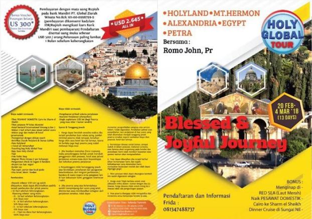 13D Holyland 20 feb - 4 Mar 18