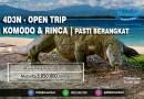 OPEN TRIP 4 HARI 3 MALAM | PULAU KOMODO & RINCA