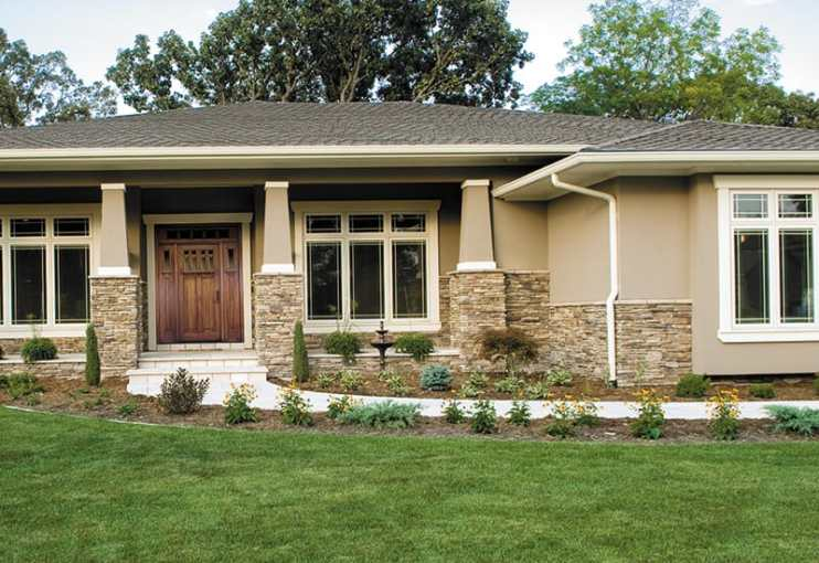 Elements of Craftsman Style The modern craftsman house