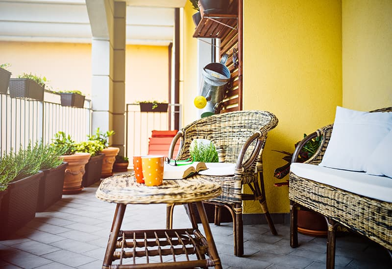 6 Space-Saving Ideas for Small Patios on Small Patio Design Ideas  id=40229