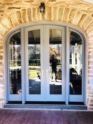 beautiful custom french patio door in