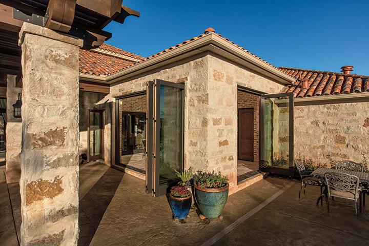 bifold patio doors open up your home