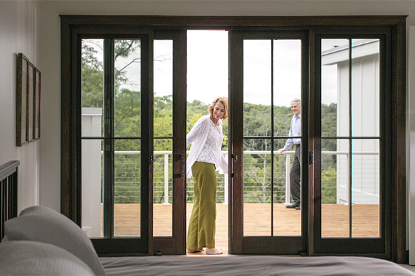 modern patio doors for new homeowners