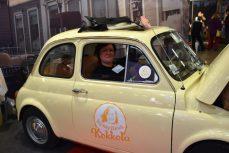 Jag i Happy smile bilen Visit Kokkola