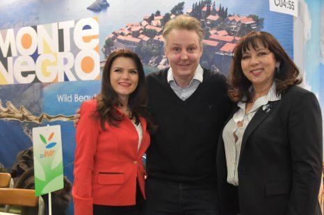 Representanter från Montenegros turistbyrå