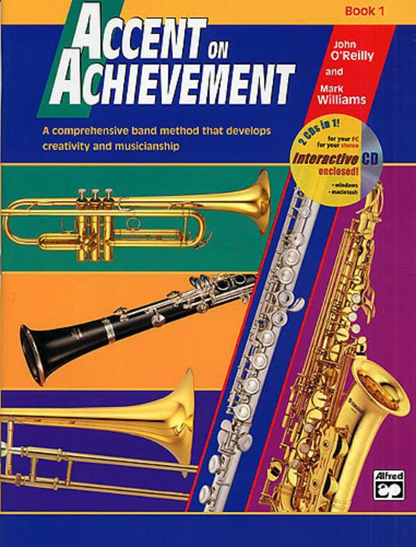 Book Achievement 1 Accent Slides Trombone