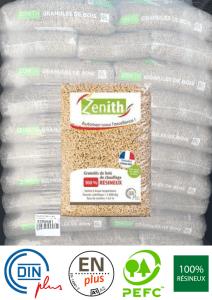 pallette piveteau zenith granulés pellets bois ancenis 44 49 72 sacs