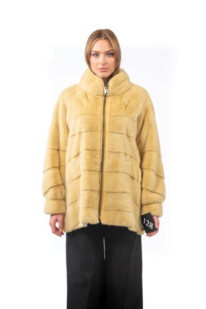 Mink beige jacket