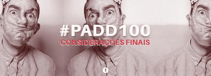 #PADD100: Considerações finais