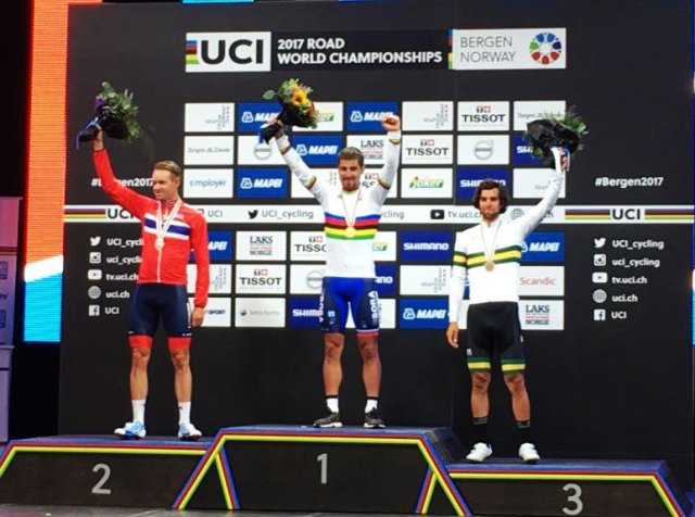 Sagan Tricampeão mundial de ciclismo de estrada!