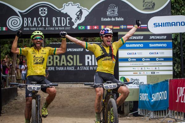 Henrique Avancini tricampeão do Brasil Ride
