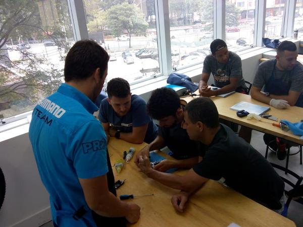 Centro de Treinamento Técnico Shimano/Blue Cycle abre novas turmas entre março e maio, em São Paulo