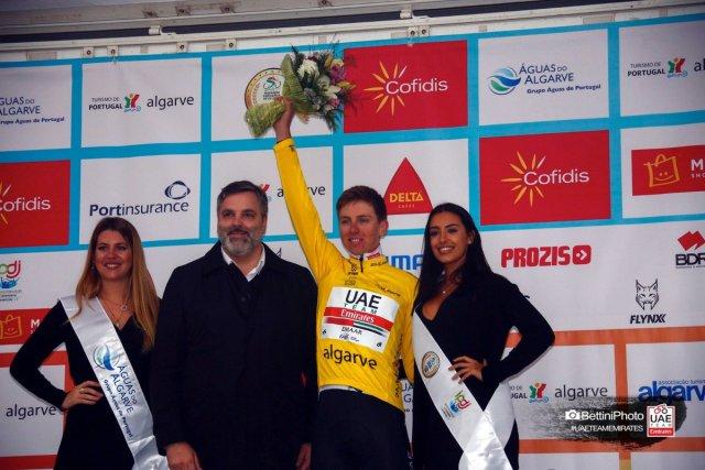 Stybar vence etapa Jovem Pogacar é campeão no Algarve!