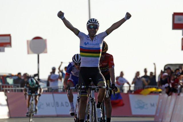Valverde vence em chegada ao alto no deserto!