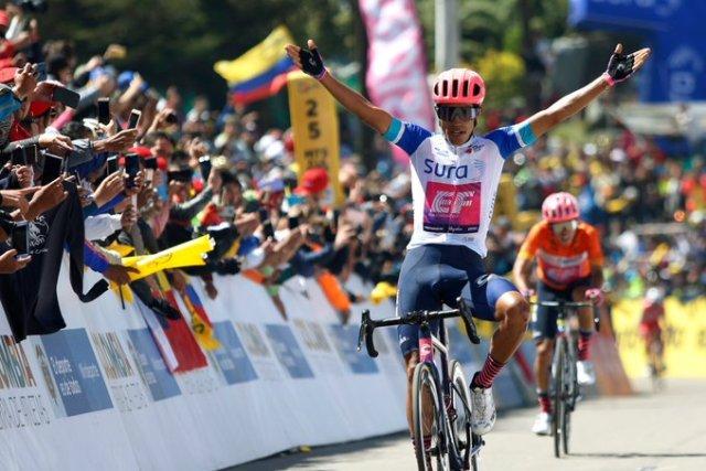 Dani Martinez vence etapa e Higuita é campeão no Tour Colombia