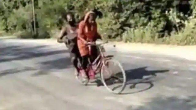 Ela pedalou 1.200km levando o pai ferido e foi parar na seleção!