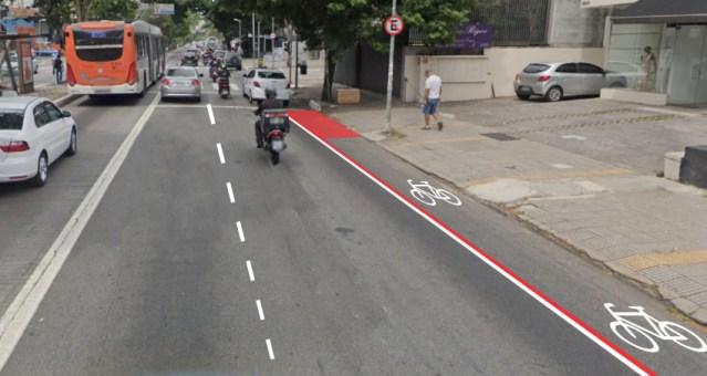 Em ano eleitoral, prefeitura de SP começa a fazer ciclovias