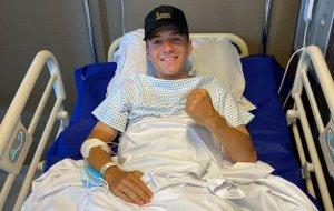 Remco Evenepoel se recupera em hospital | Foto Instagram