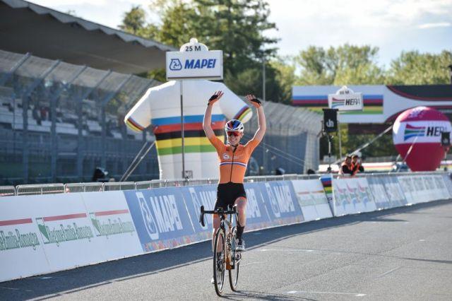 Dobradinha holandesa no mundial feminino de ciclismo em Imola