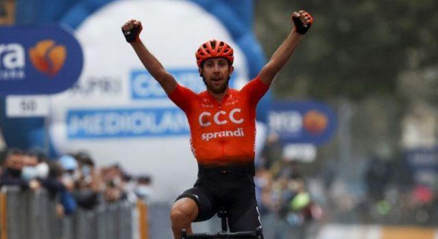 Josef Cerny vence etapa encurtada do Giro