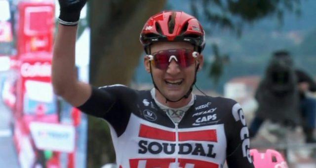 Vitória da fuga na Vuelta com Tim Wellens da Lotto Soudal