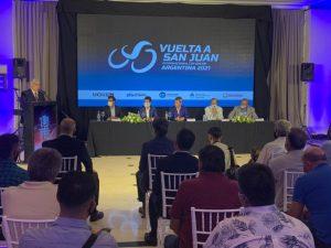 Apresentação da Vuelta a San Juan na Argentina
