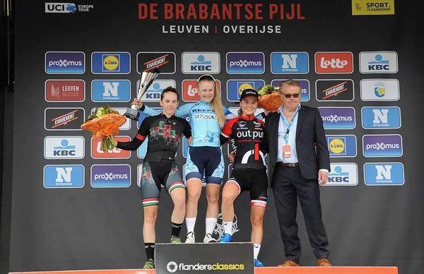 Anna van Wersch vence na Brabantse Pijl na Bélgica | Foto Arquivo Pessoal