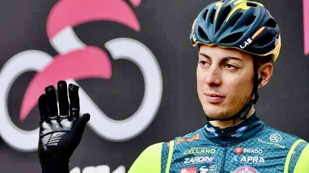 Matteo de Bonis - Divulgação Giro Italia