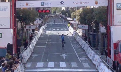 Alejandro Valverde vence GP Miguel Indurain | Captura TV