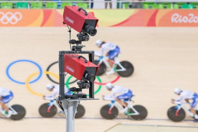 Câmera do Photo-Finish durante os Jogos Olímpicos do Rio 2016 | Divulgação Swatch Omega