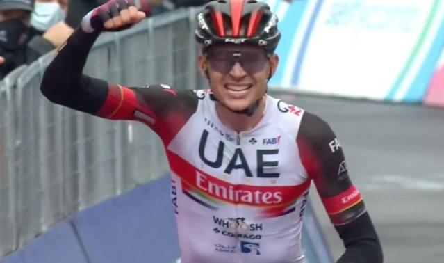 Dombrowski vence etapa do Giro
