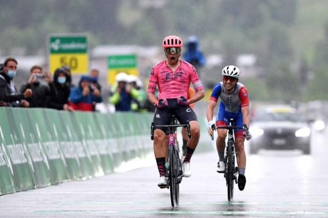 Stefan Bissegger vence no Tour de Suisse   Foto Tim de Waele/Getty