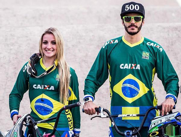 Priscilla Stevaux e Renato Rezende completam Time Brasil do Ciclismo em Tóquio