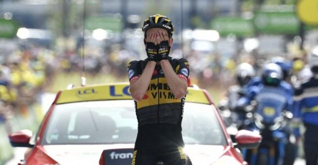 Sepp Kuss vence no Tour de France 2021   Foto A.S.O.