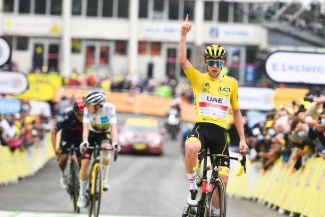 Pogacar vence no Tour de France | Foto A.S.O.