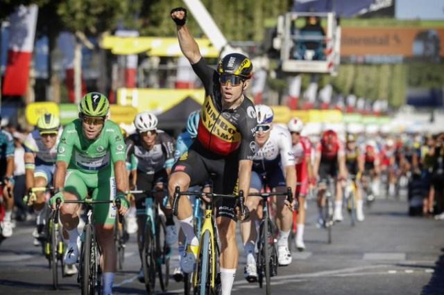 Wout van Aert vence no Tour de France 2021   Foto A.S.O.