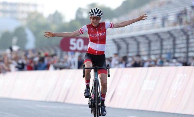 A glória Olímpica para a matemática austríaca que não disputa o ciclismo profissional!
