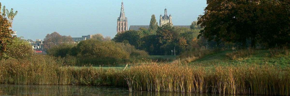 Sint-Jan vanuit Bossche Broek tbv bedrijfsfilm den bosch