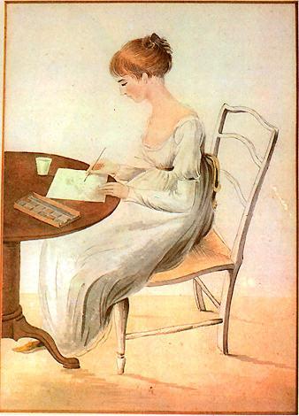 portrait of jane austen by cassandra austen