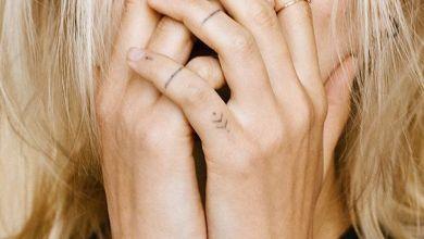 Etkileyici parmak dövmeleri 2019