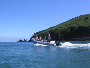 Power Boating in the Pembrokeshire Coast National Park