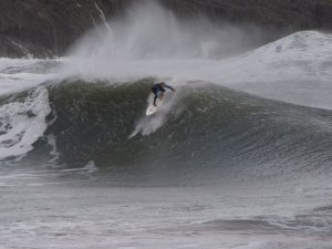 surfing in the Pembrokeshire Coast National Park