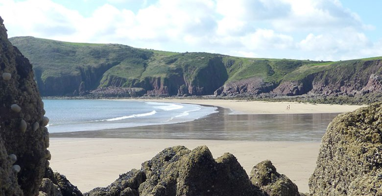 Beaches of Pembrokeshire - Swan lake Bay