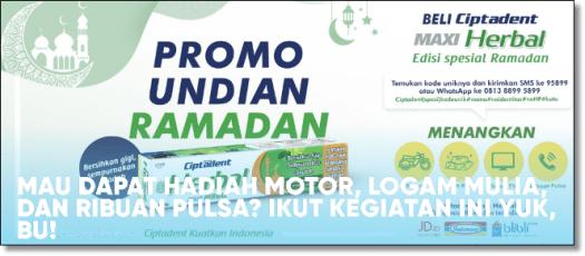 promo undian ramadan ciptadent berhadiah umroh